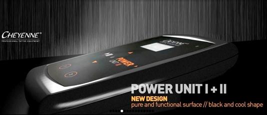 Nouveau design power unit