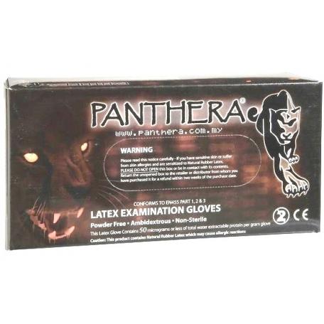 GANTS PANTHERA LATEX NOIR (L)