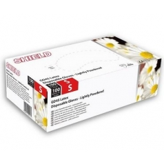 CARTON DE 10 BOITES GANTS LATEX BLANC