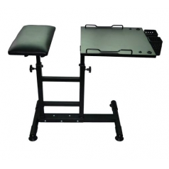 TABLE + REPOSE BRAS 2 EN 1