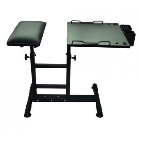 TABLE + REPOSE BRAS 2 EN 1