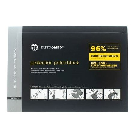 TATTOOMED PROTECTION PATCH BLACK