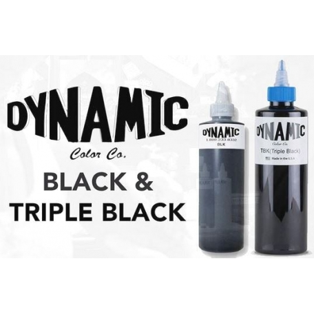 ENCRE DYNAMIC TRIPLE BLACK 240ml