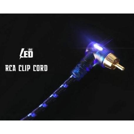 CLIP CORD/RCA LED PREMIUM
