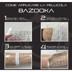 FILM PROTECTION TATOUAGE BAZOOKA EN ROULEAU