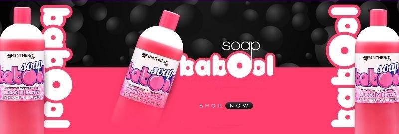 Green soap Bubble gum