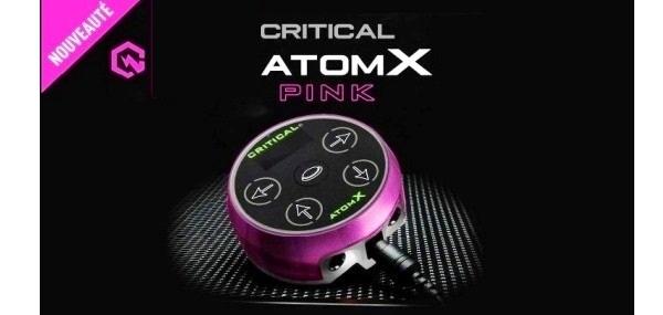 Slide atom X pink
